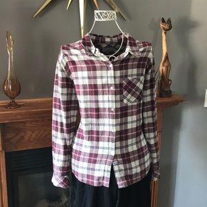 Rails Spring Plaid Shirt Sz L